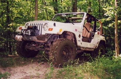 1998 Jeep Wrangler Tj Jeeping Off Road Graham J
