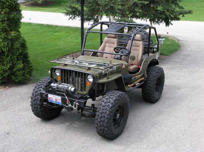 Building a 1947 willys cj2a and need help pirate4x4 com
